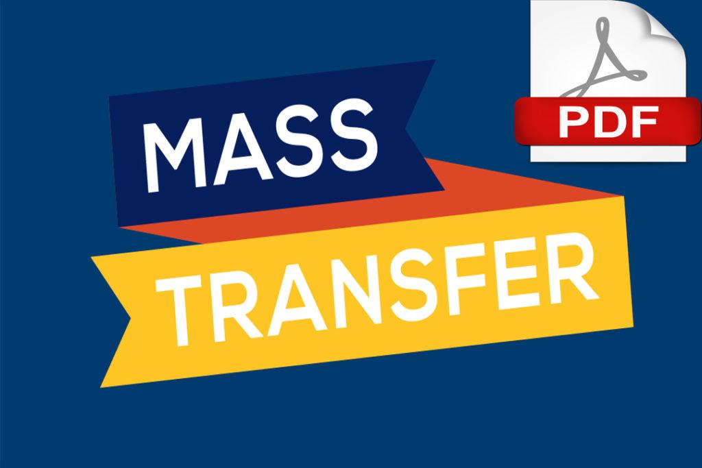 mass transfer pdf