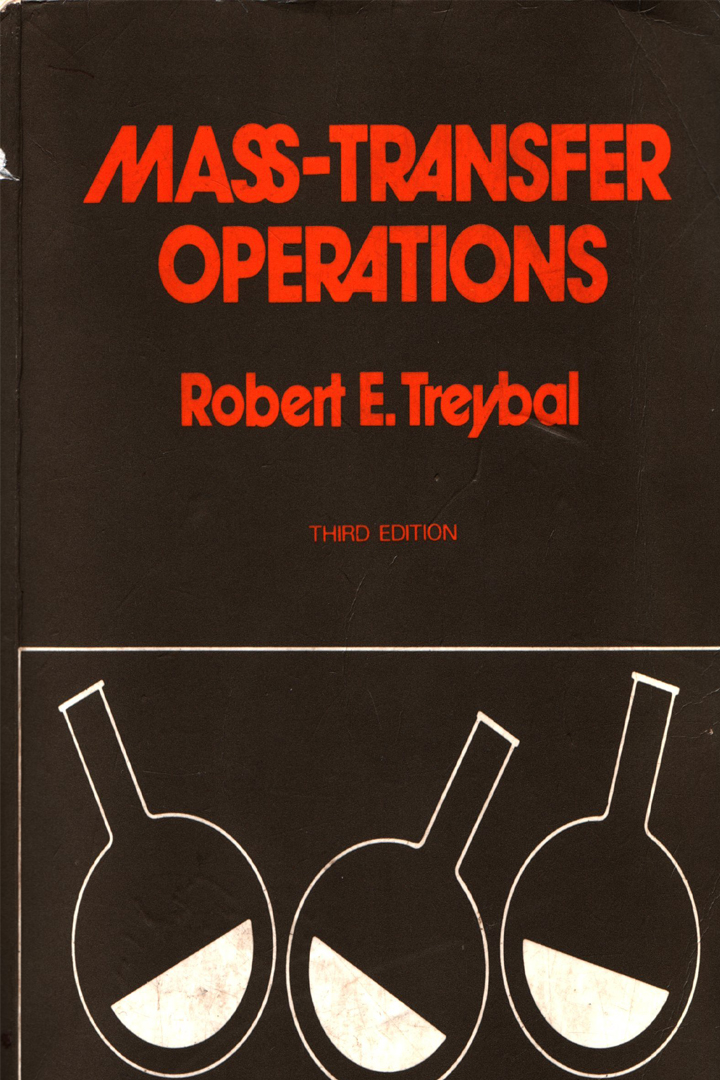 Mass Transfer Operations by Treybal 3rd Edition Pdf Free