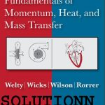 Fundamentals of Momentum Heat and Mass Transfer 5th Edition Solution Manual  Welty Pdf Free Donload