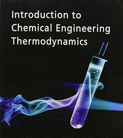 Introduction to Chemical Engineering Thermodynamics 7th Edition Pdf