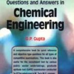 OP Gupta Chemical Engineering Book Pdf Free Download