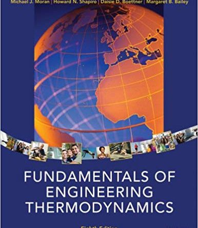 fundamentals of engineering thermodynamics 8th edition