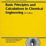Basic Principles and Calculations in Chemical Engineering 6th edition PDF Download