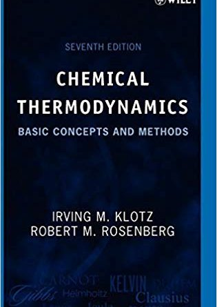 CHEMICAL THERMODYNAMICS Basic Concepts and Methods Seventh Edition Pdf