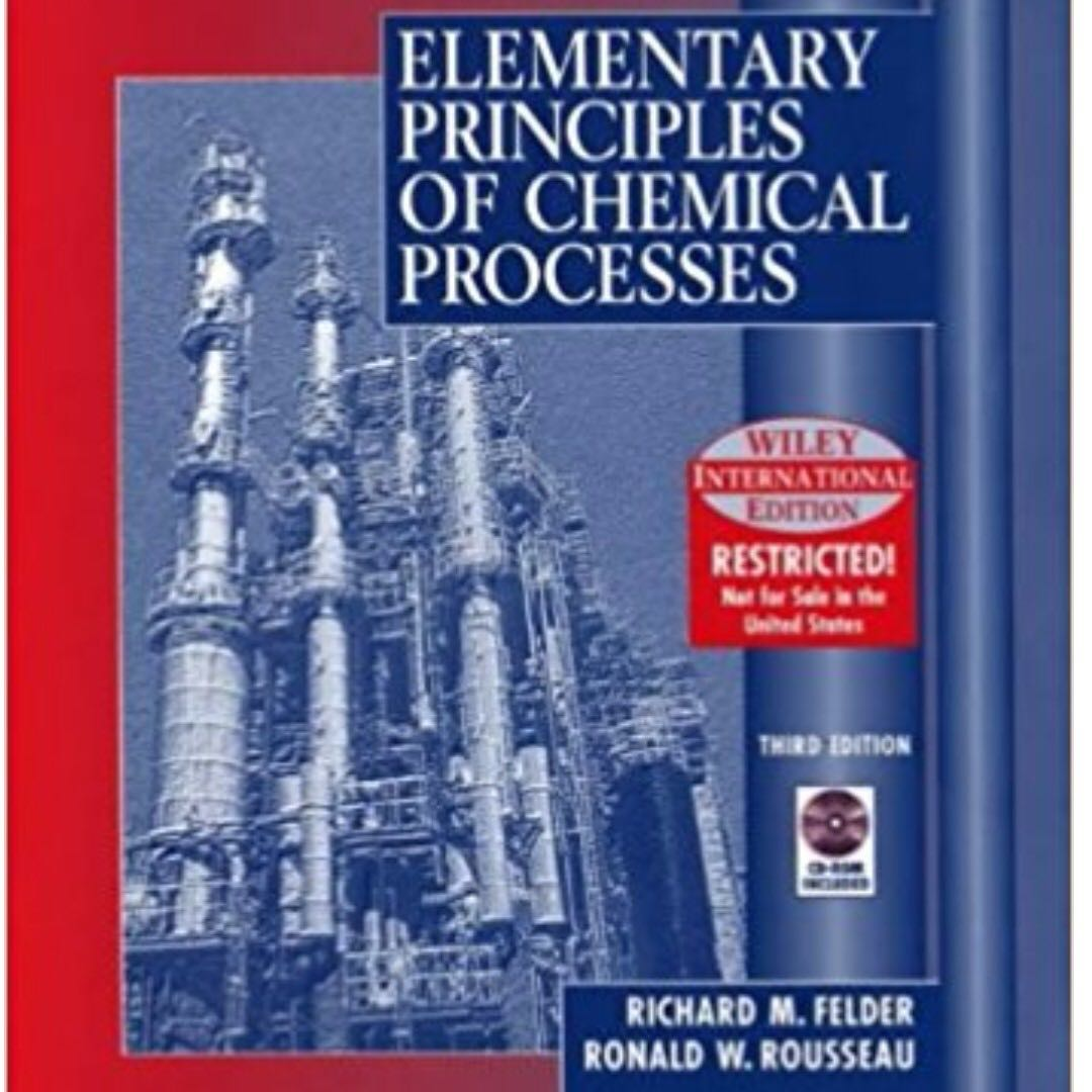 Elementary Principles of Chemical Processes 3rd Edition Solution Manual