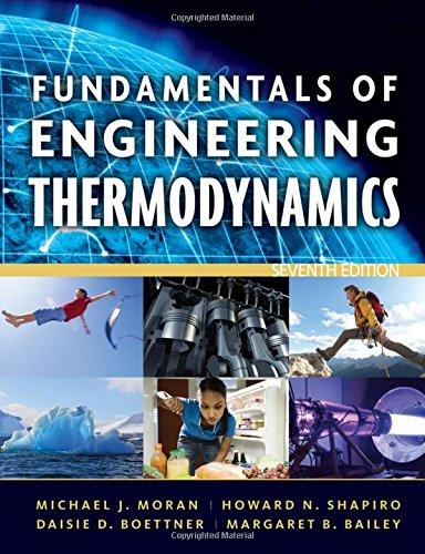 Fundamentals of Engineering Thermodynamics 7th