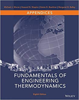 Fundamentals of Engineering Thermodynamics 8th