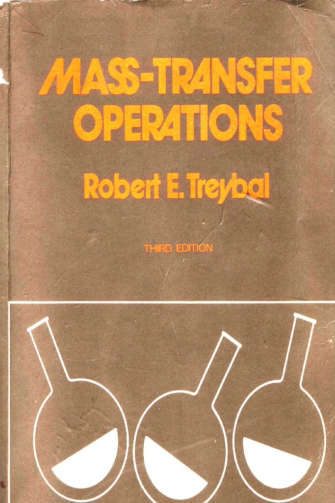 Mass Transfer Operations Treybal 3rd Edition