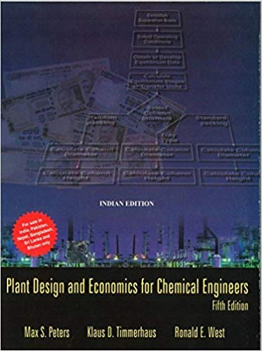 Plant Design and Economics for Chemical Engineers 5th edition free download