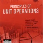 Principles of Unit Operations Alan Foust Free Download