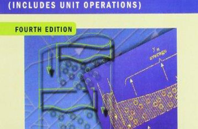 Transport Processes and Separation Process Principles Geankoplis 4th Edition