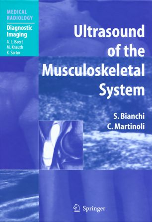 Ultrasound of the Musculoskeletal System Bianchi PDF