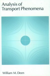 analysis of transport phenomena deen 2nd edition pdf