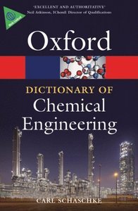 dictionary of chemical engineering