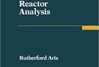 Elementary Chemical Reactor Analysis PDF