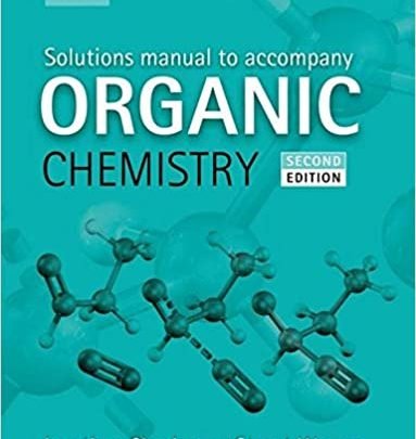 organic chemistry pdf solutiona maanualJonathan Clayden and Stuart Warren